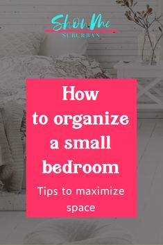 I needed some tips and ideas for how to save space in my small bedroom. This article gave me so much info on tiny bedroom storage and organization hacks! It really helped me maximize the space in my room. Under Bed Organization, Small Bedroom Organization, Under Bed Storage, Built In Storage, Organization Hacks, Organizing, Extra Storage Space, Storage Spaces, Tiny Bedroom Storage