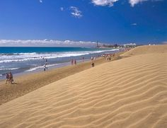 Beaches GRAND CANARY an oceanfull of beaches Average of the Water Tempertures on Grand Canary Canaries Spain Photos of Playa de Maspalomas on Grand Canary, Canary Islands Santa Lucia, Tenerife, Santorini Beaches, Travel Around The World, Around The Worlds, Rioja Spain, Paradise Places, Places In Spain, Nature