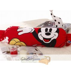 Red Mickey Mouse Candy Comforter  http://www.globargains.com/red-mickey-mouse-candy-comforter_p2082.html