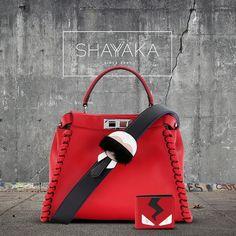 e25ad3e5b9 Fendi Peekaboo Lace Up Leather Bag