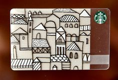 The neighborhood on the hill. Starbucks Gift Card, Starbucks Coffee, Visa Gift Card, Gift Cards, Member Card, Bank Card, Coffee Branding, Coffee Is Life, Print Packaging