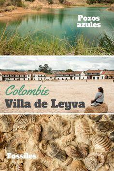 Découvrez Villa de Leyva, ce très beau village colonial en Colombie ainsi que ses environs (lagunes turquoises, fossiles, site de la culture muisca...)