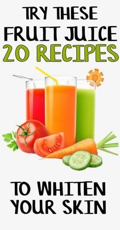 In this article, we are going to have a look at the skin whitening juice to drink. Drinking different fruits and vegetable juices is always healthy for your whole body including the skin. Healthy Juice Recipes, Healthy Juices, Healthy Smoothies, Healthy Drinks, Healthy Skin, Fruit Recipes, Smoothie Recipes, Detox Drinks, Diet Recipes