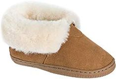 New Overland Sheepskin Co Children's Australian Merino Shearling-Lined Suede Slipper Booties online shopping - Trendyusfashion Drew Shoes, Designer Leather Jackets, Best Slippers, Christmas Shoes, Denim Sneakers, Rainbow Sandals, Sheepskin Slippers, Denim And Lace, Womens Slippers