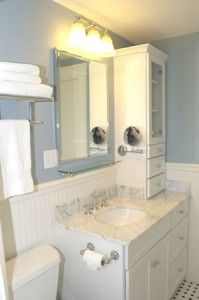 All About The New Bathroom And My KraftMaid Cabinets | Kraftmaid Cabinets,  House And Bath
