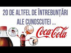 20 DE ÎNTREBUINȚĂRI INEDITE ALE BĂUTURII COCA COLA - YouTube Coco, Coca Cola, Youtube, Fitness, Health And Wellness, Coke, Youtubers, Cola, Youtube Movies