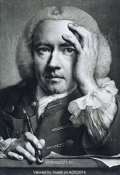 Self Portrait, by Thomas Frye. England, 1760