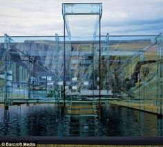 Architect Carlo Santambrogio has designed an all-glass house to accompany his range of glass furniture titled Simplicity. Glass House Design, Woodland House, Glass Furniture, House By The Sea, Unusual Homes, Blog Deco, Minimalist Living, Art And Architecture, Creative Architecture
