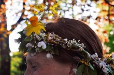 blessingway flower crown
