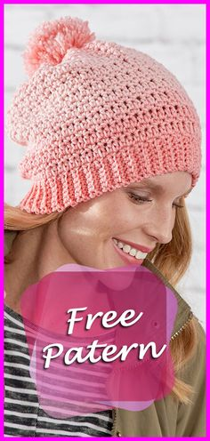 Hat crochet pattern free easy, Hat Free Pattern: Crochet Fair Isle Hat, Free Pattern, Crochet, Hat, DIY, Crafts, Easy, Pom pom, Crochet Ombre Hat Free Pattern. #crocheting  #YarnOfCrochet #crochetaddict #crochetpattern #freepattern #hat