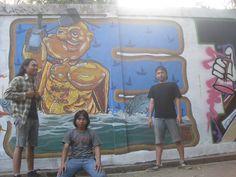 """Jamming Mural """"Sedulur Tunggal Tembok"""" TBRS Semarang"""