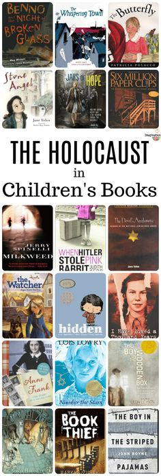 must-read children's books about The Holocaust (and WWII)