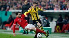 Galerie: Die Fotos vom Pokal-Viertelfinale gegen Borussia Dortmund.