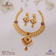 Gold Jewellery Design, Gold Jewelry, Women Jewelry, Diamond Jewelry, Designer Jewelry, Choker Necklace Online, Necklace Set, Gold Necklace, Short Necklace