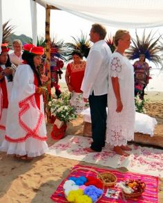 Take your destination wedding at Mexico's Four Seasons Resort Punta Mita to the next level by incorporating some native Huichol Indian rituals into your ceremony. A medicine woman does the service, and dancers—wearing customary feathers—also perform. But make sure to give your guests warning: traditional attire is white.Price: $650.