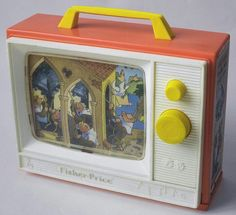 Musical toy tv in the 70's. ★