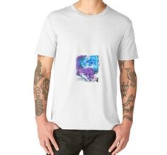Männer Premium T-Shirts Otters, Shades Of Blue, Wearable Art, Hoodies, Mens Tops, Stuff To Buy, Shopping, Fashion, Watercolors