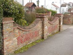 BRICK BOUNDARY WALL WITH GRILL - Google Search