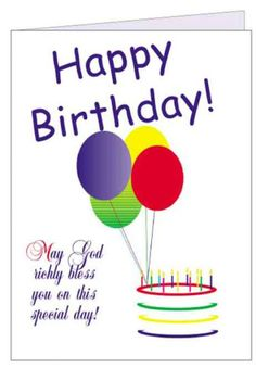 birthday greeting cards pictures ballons free ecards