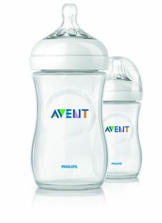 [2015] Philips Avent BPA Free Natural Polypropylene Bottle, 9 Ounce, 2 Count Philips Avent