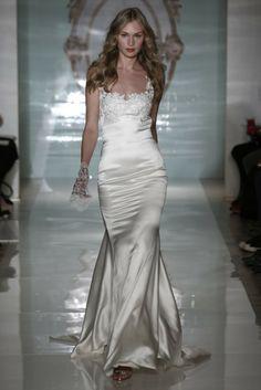 Reem Acra 2015 wedding dress