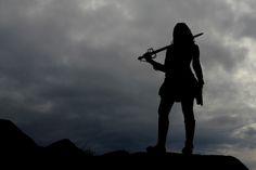 women warriors of God photos | Warrior Woman Silhouette