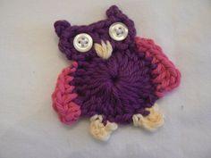 Crochet Train Applique Pattern | Crochet Pattern Owl Applique Crochet Pattern by KBellesCrochet
