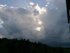 22.04.2014 - Aufziehendes Gewitter @ Sankt Nikolai im Sausal (Stmk)