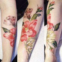 FYeahTattoos.com — tattoos by amanda wachob (x)