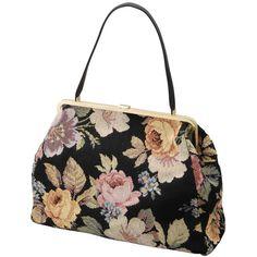 デザイナーも大好きなゴブラン柄。1泊旅行もOKなサイズが決め手のエディター風バッグ-eruca.[エルーカ]-アイテム詳細 ❤ liked on Polyvore featuring bags, handbags, purses, accessories, bolsas, man bag, hand bags, purse bag and handbag purse
