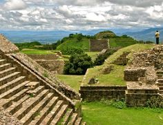 Monte Alban Ruins In Oaxaca, Mexico  Beautiful place!  photo credit: Jim Cook