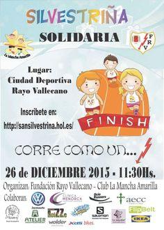 #Vallecas prepara su #SanSilvestre para niños con fines solidarios #silvestriña