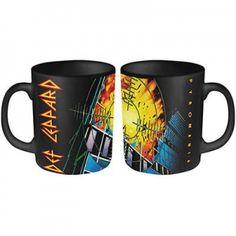 Def Leppard Pyromania Coffee Mug