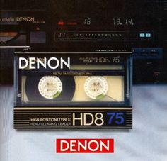 DENON HD8 Type II Metal
