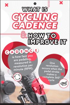 Cycle bikes typically come equipped with a performance monitor that displays standard metrics. While each metric is important and gives insight into how you performed during your ride, this article will focus on cadence, what it is and how to improve it. #sunnyhealthfitness #cadence #cyclingcadence #cyclingmetrics #cyclingperformance