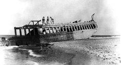 Shipwrecks on the Outer Banks, NC