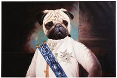 Oil Painting General Mops 80x120cm