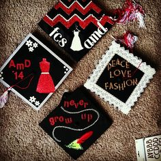 Pin for Later: 30 Adorable Grad Caps For Best Friends Fashion Designers