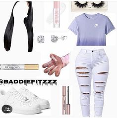 Cute Outfits With Jeans, Cute Lazy Outfits, Swag Outfits For Girls, Teenage Girl Outfits, Cute Swag Outfits, Girls Fashion Clothes, Dope Outfits, Teen Fashion Outfits, Retro Outfits