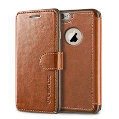 Verus iPhone 6 Plus (5.5) Case Layered Dandy Diary Series - Brown
