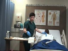 Tracheostomy Care (nursing student video)