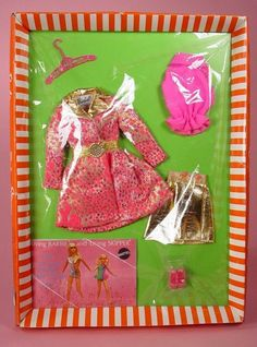 Barbie clothes..back then you had maybe 2 barbies and you bought the clothes..not a barbie doll every time a new one came out! and sometimes people would make you clothes for your barbie! I have a lot of homemade barbie clothes!