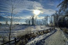 Rod McLean took this photo of Lumby Trail, B. Vernon Bc, Winter Scenery, O Canada, Best B, Winter Photography, Photography Ideas, British Columbia, Trail, Country Roads