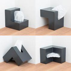 Tissue Boxes, Cube, Space, Simple, Design, Bathrooms, Floor Space, Bathroom