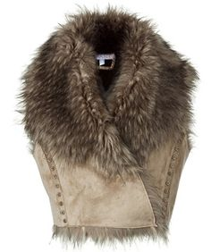 Can't wait for fall fashion! Think I could pull off this fur shrug?
