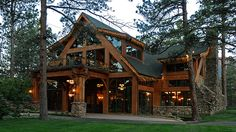 Texas Timber Frame Wood Exterior