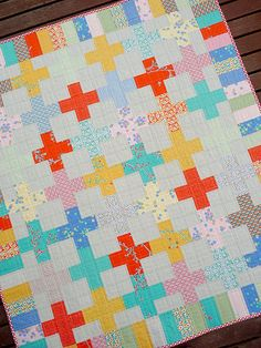 Crossed Paths Quilt