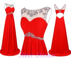 2015 Royal Blue Prom Dresses A Line Aqua Sparkly Beads With Cap Sleeves Long Backless Red Prom Dress For Teens · meetdresses · Online Store Powered by Storenvy