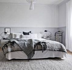 ♡ @ADORABLISS ♡ Scandinavian Interior Bedroom, Home Interior, Interior Architecture, Scandinavian Beds, Dream Bedroom, Home Bedroom, Master Bedroom, Bedroom Decor, Bedrooms