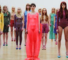 Vanessa Beecroft, vb68, 2011, Performance MMK Museum für Moderne Kunst Frankfurt, detail.